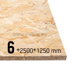 OSB/3 plaat 2500x1250x6 mm