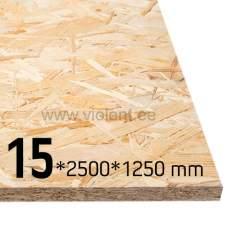 OSB/3 plaat 2500x1250x15 mm