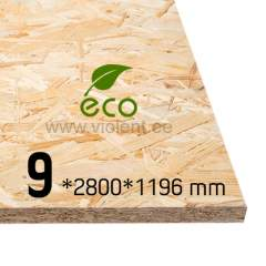 OSB/3 plaat 2800x1196x9 mm