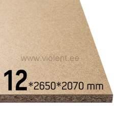 Puitlaastplaat P2 2650x2070x12 mm