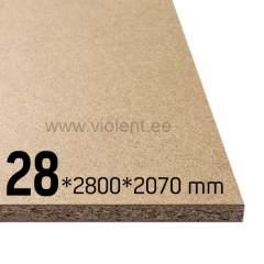 Puitlaastplaat P2 2800x2070x28 mm
