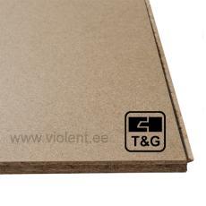 Puitlaastplaat P6 (T&G-4)