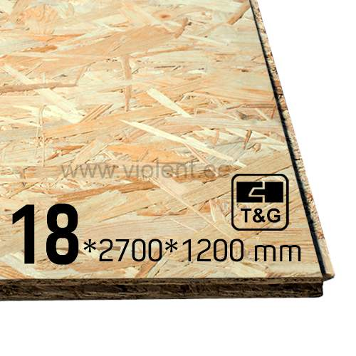 Spiksplinternieuw OSB-4 T&G4 2700x1200x18 mm EY-78