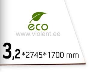Puitlkiudplaat valge 3 mm - www.violent.ee