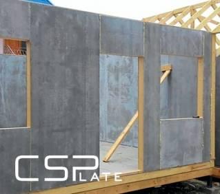 Цементно-стружечные плиты - применение