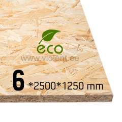 OSB/3 plaat 2500x1250x6 mm