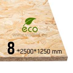 OSB/3 plaat 2500x1250x8 mm