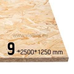 OSB/3 plaat 2500x1250x9 mm