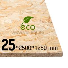 OSB/3 plaat 2500x1250x25 mm