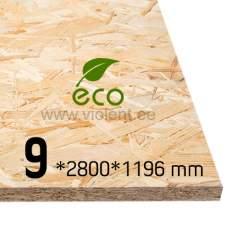 OSB/3-levy 2800x1196x9 mm