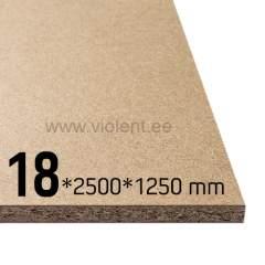 Puitlaastplaat P2 2500x1250x18 mm