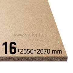 Puitlaastplaat P2 2650x2070x16 mm