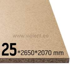 Puitlaastplaat P2 2650x2070x25 mm