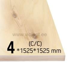 Kasevineer INT (C/C) 1525x1525x4 mm