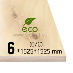 Kasevineer INT (C/C) 1525x1525x6 mm