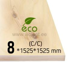 Kasevineer INT (C/C) 1525x1525x8 mm