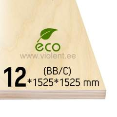 Kasevineer INT (BB/C) 1525x1525x12 mm