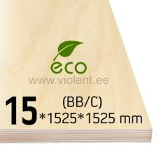 Kasevineer INT (BB/C) 1525x1525x15 mm