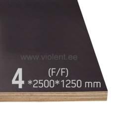 Filmivineer kask (F/F) 2500x1250x4 mm