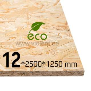 OSB/3-levy 2500x1250x12 mm