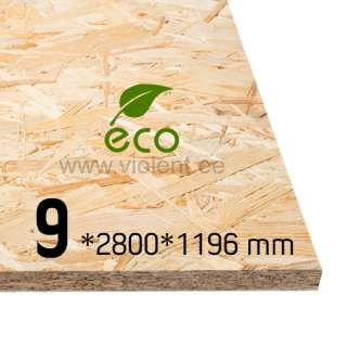 OSB/3-levy 2800x1196x9 mm
