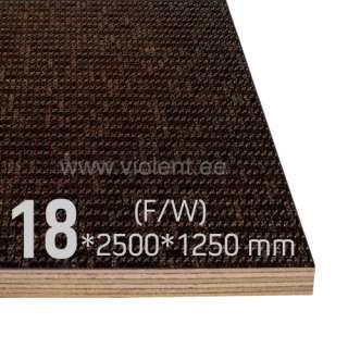 Фанера береза (F/W) 2500x1250x18 мм