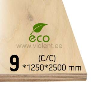Kasevineer EXT (C/C) 1250x2500x9 mm